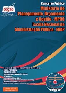 Apostila Ministerio do Planejamento Concurso MPOG e Enap 2015 todos cargos impressa.