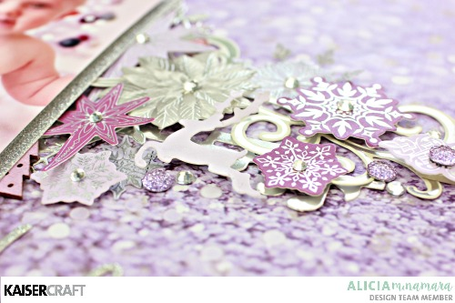 Kaisercraft Christmas Jewel Layout by Alicia McNamara