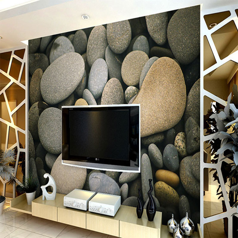 3D Effect Brick Stone Wallpaper For Interior Designs - Decor Units