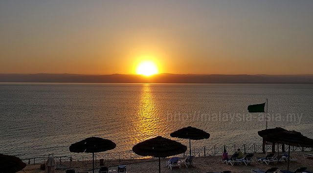 Dead Sea Sunset Photo