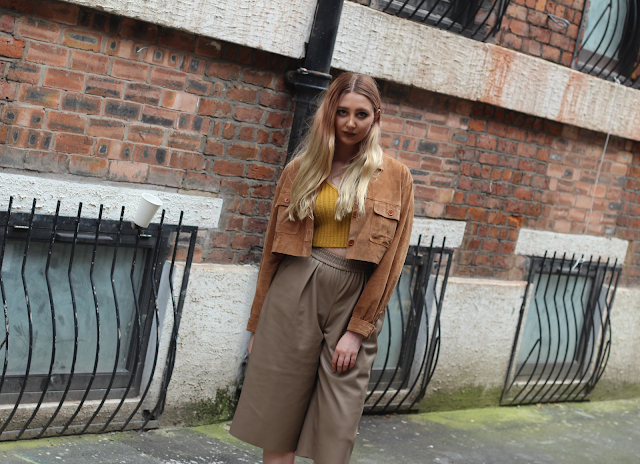 how to wear leather with suede fashion