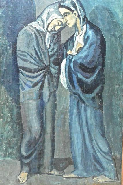 Picasso les deux soeurs Saint Pétersbourg Ermitage 2 Etat-Major en face du palais d'Hiver