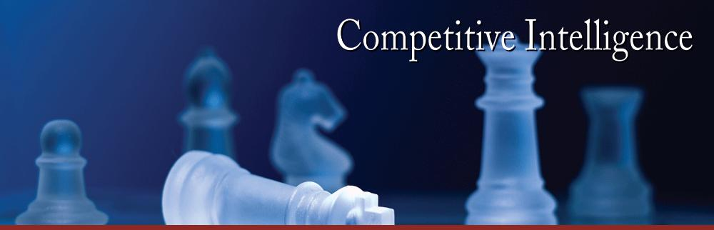 competitive intelligence research Competitive intelligence is the a strategic part of the marketing research based on how to identify the future competitive drives in the marketplace it involves, by and large, developing a process and foundation for inforamtion and profiles of key competitors.