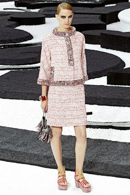 jacket is Chanel Spring 2011