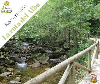 La ruta del alba el trasgu la fronda parque natural de redes senderismo con niños en Asturias