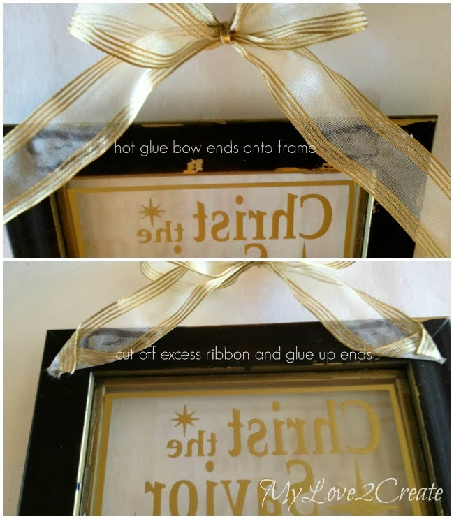 MyLove2Create, Gold spray-painted glass
