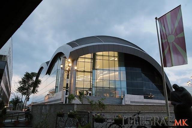 Neue Philharmonie in Skopje feierlich eröffnet