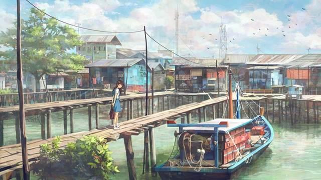 fishing village school girl manga