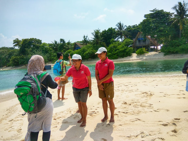 welcome drink from Pangkil Island