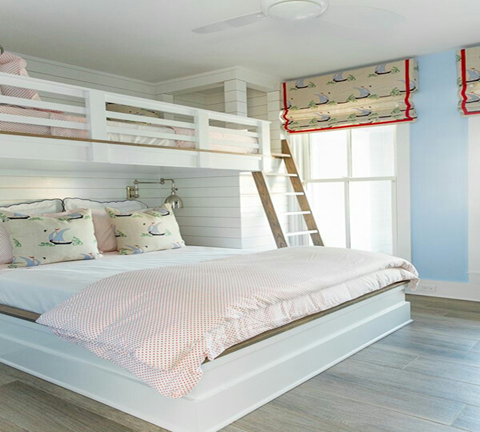 The most enjoyable moment for children's is having a sleepover with their buddies. On the other hand double Decker bed also space-saving solutions that help maximize your room. Even adult bedrooms and guest rooms can benefit of this smart bunk bed designs