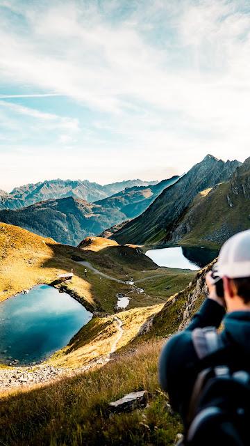 Seetalwanderung und Klettersteig Hochjoch  Silvretta Montafon 04