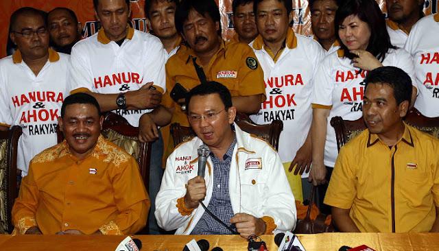 Akibat Tolak Ahok, Hanura Pecat Mohamad Guntur Dari Ketua DPC Jaktim