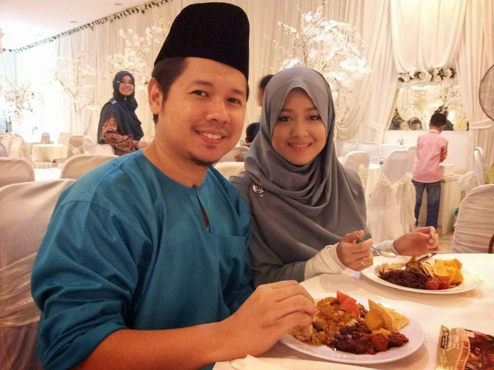 Foto Cantik Perkahwinan Blogger Cik Epal - Ami Jofli