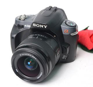 DSLR Bekas - Sony Alpha a330