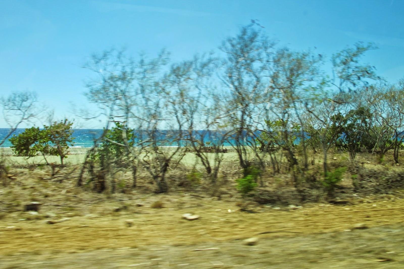 Caminho para Baracoa, uma das regiões mais remotas de Cuba.