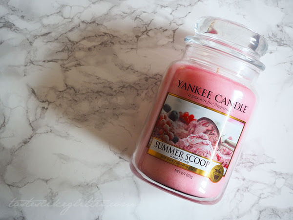 Yankee Candle - Summer Scoop.