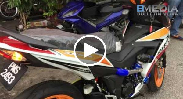 Honda RS150r Pakai Turbo