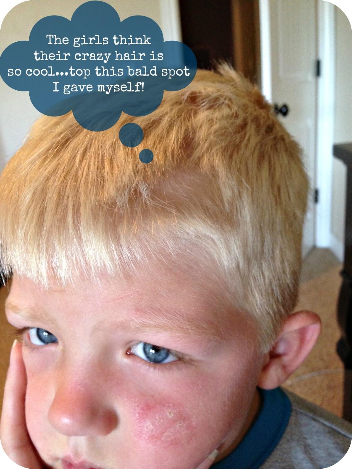 Blue Skies Ahead Crazy Hair Day Ideas