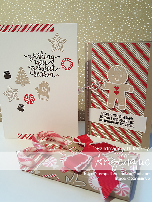 http://stempelkeuken.blogspot.com/2016/09/bloghop-herfstwintercatalogus.html Stempelkeuken, Candy Cane Lane, Candy Cane Christmas, Cookie Cutter Christmas, Real Red, Early Espresso, Crumb Cake, Baker's Twine, Ribbon, Crumb Cake Note Cards, Note Cards, Whisper White