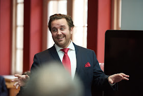 Michael Spyres at the Opera Rara launch at the London Coliseum - photo by Russell Duncan