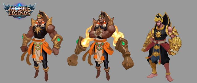 Gatot Kaca New Hero dari Indonesia Review Mobile Legends Bang-bang