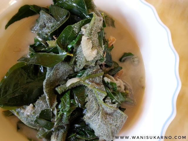 resepi sayur lemak pucuk labu yang mudah dan sedap