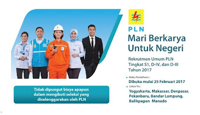 Lowongan Kerja Terbaru BUMN PT PLN (Persero)