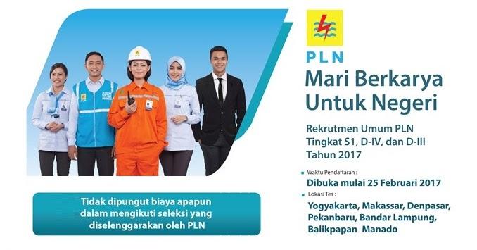 Lowongan Kerja Terbaru Bumn Pt Pln Persero Loker Mantap
