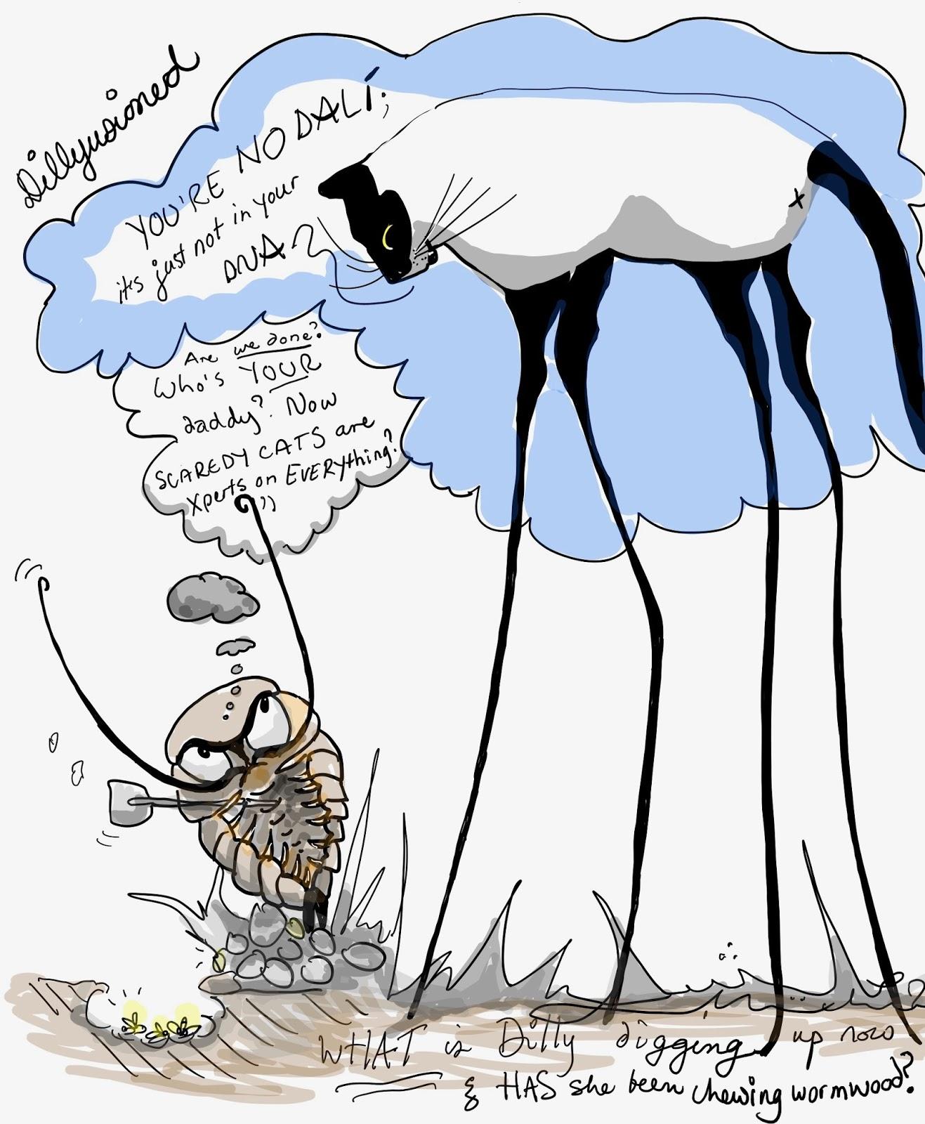 Dig up Dalí's DNA