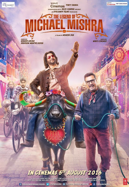 Poster of The Legend of Michael Mishra 2016 Hindi 720p HDRip Full Movie Download