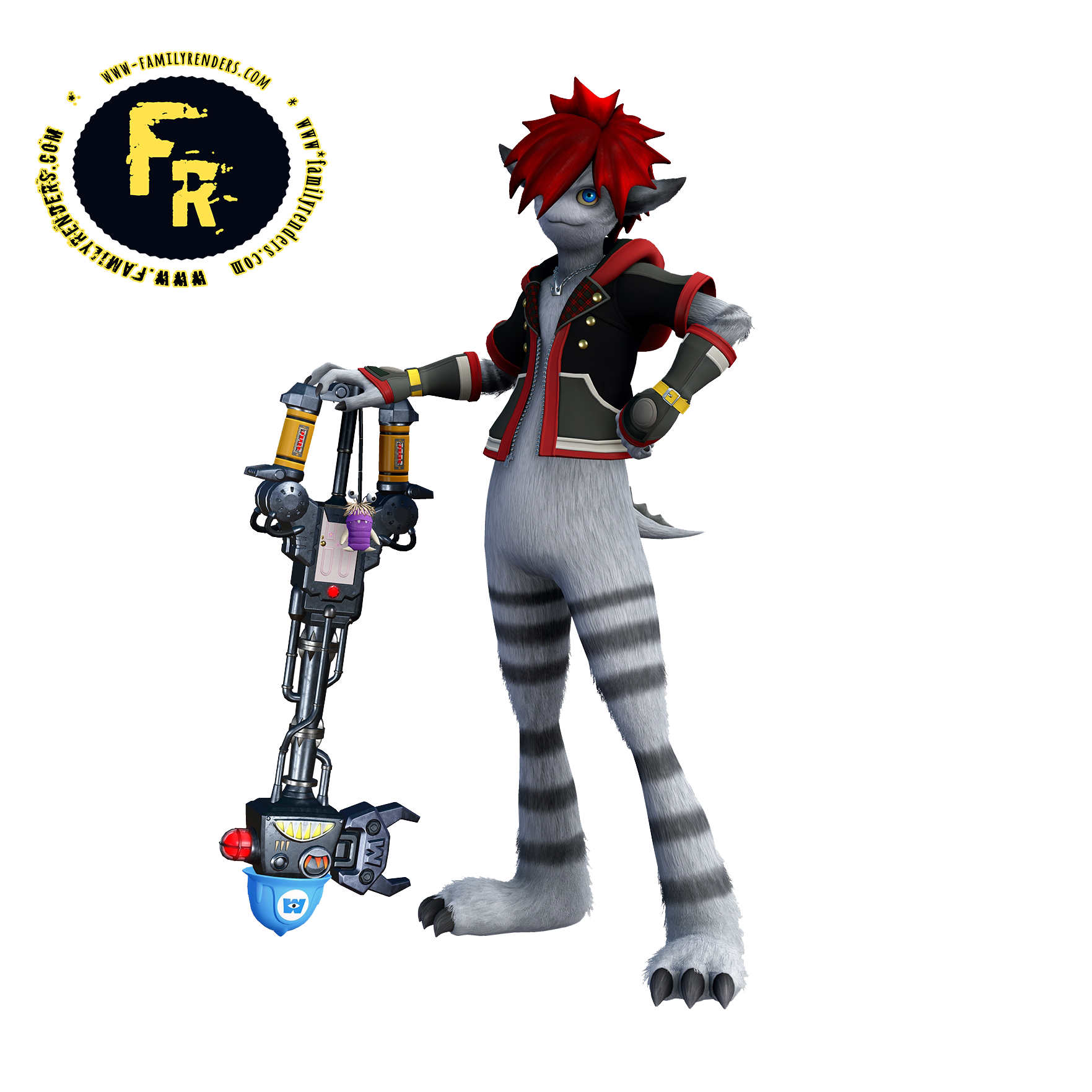 render sora - MONSTER INC,