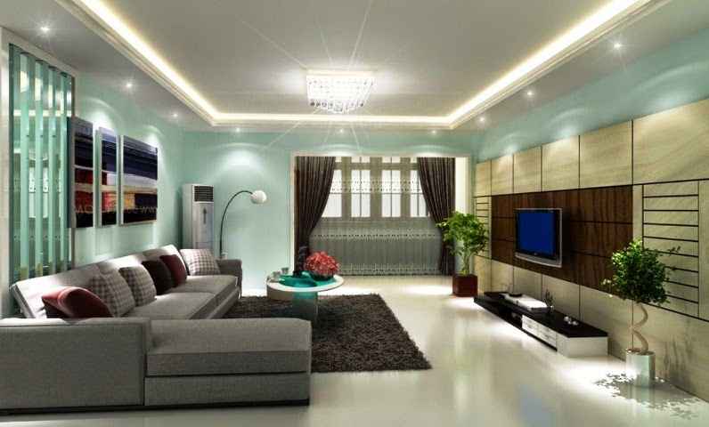Modern  Color for Interior House  Wall Painting Design