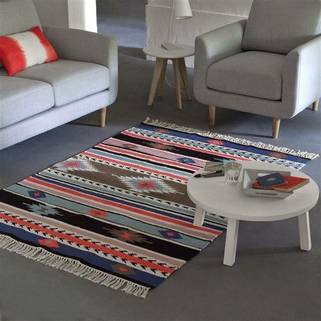 pellmell cr ations ma s lection de tapis la redoute. Black Bedroom Furniture Sets. Home Design Ideas