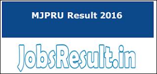 MJPRU Result 2016