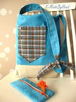 Blue bag – Hanusiowy komplecik