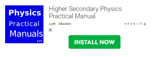 Higher Secondary Physics Lab Manual