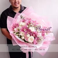 hand bouquet bunga, toko bunga jakarta, toko bunga di jakarta selatan