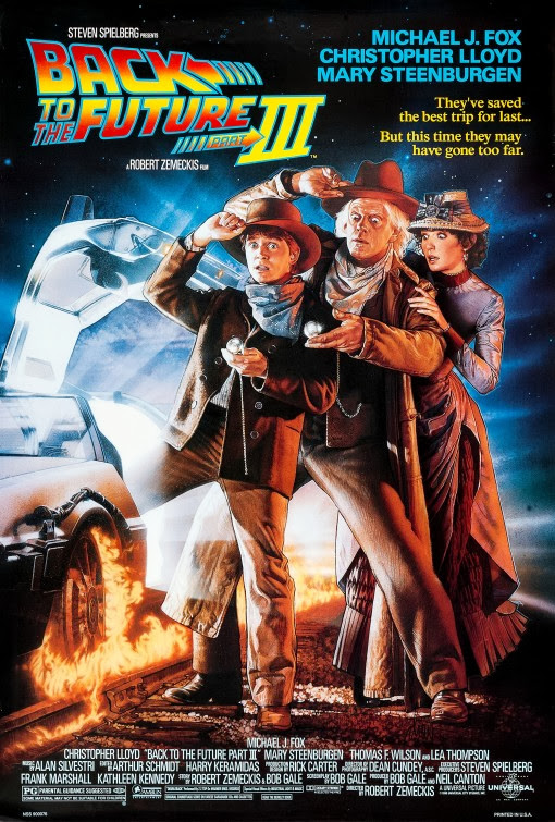 Back to the Future III movie poster