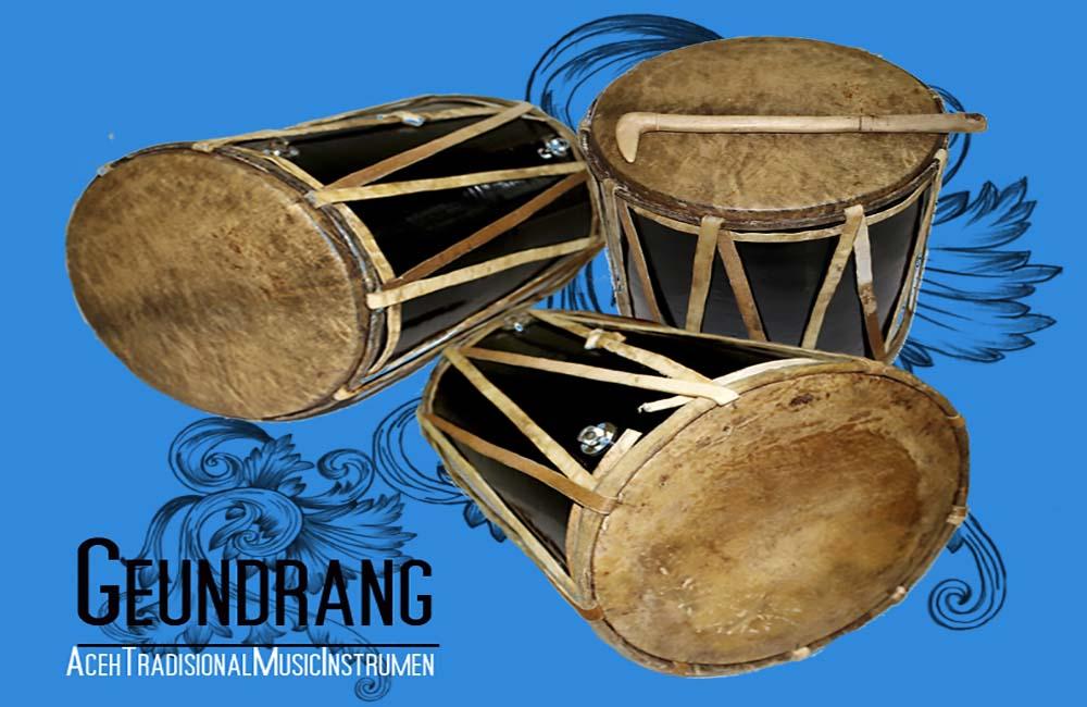 Geundrang, Alat Musik Tradisional Khas Aceh