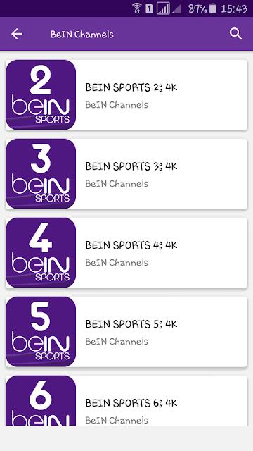 تطبيق لمشاهدة الباقات العربية و الاجنبية بجودة iptv للكبار فقط 18+(التطبيق لا يعمل)