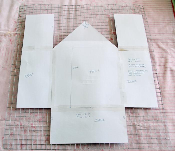 plantilla para hacer una casa metálica decorativa