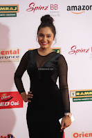 Vennela in Transparent Black Skin Tight Backless Stunning Dress at Mirchi Music Awards South 2017 ~  Exclusive Celebrities Galleries 033.JPG