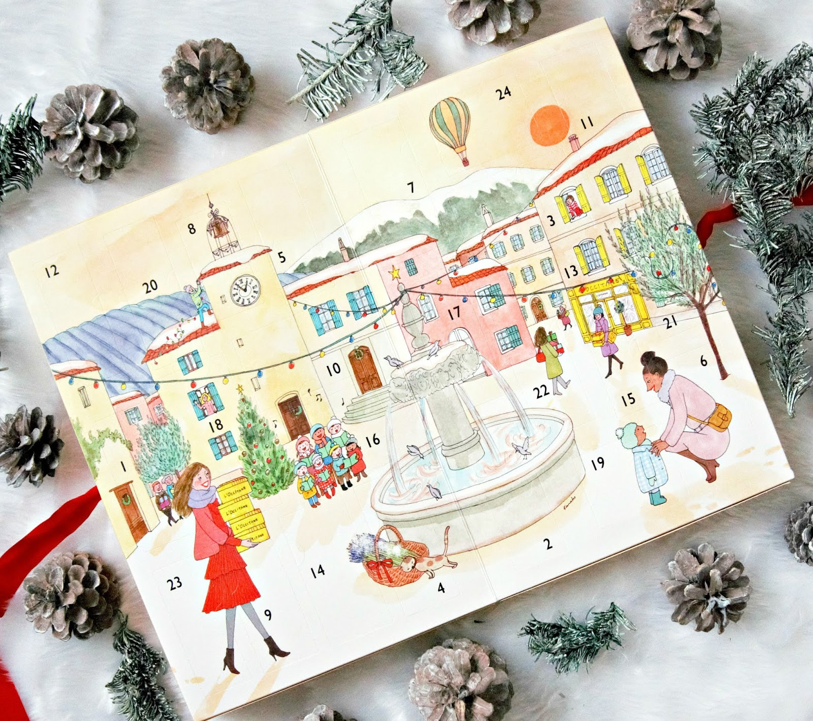 L'Occitane Classic Advent Calendar 2017 Review