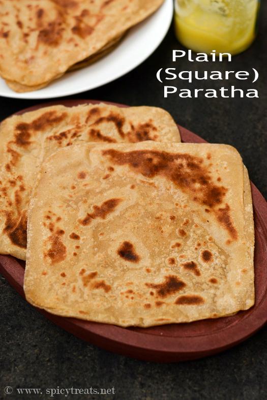 Square Paratha
