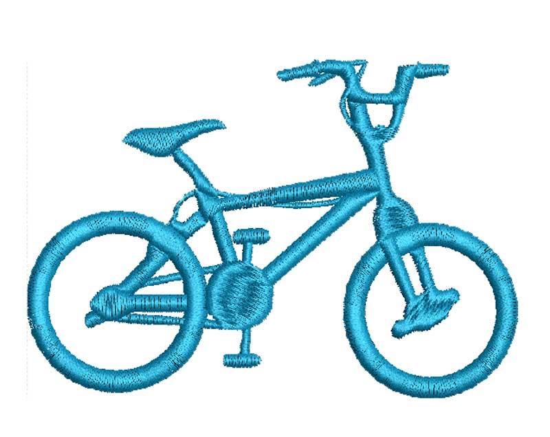 descargar diseño bicicleta para bordar wilcom