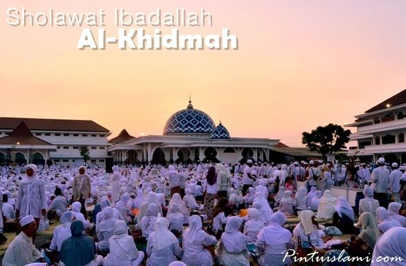 Sholawat Ibadallah Al-Khidmah dalam 3 Versi