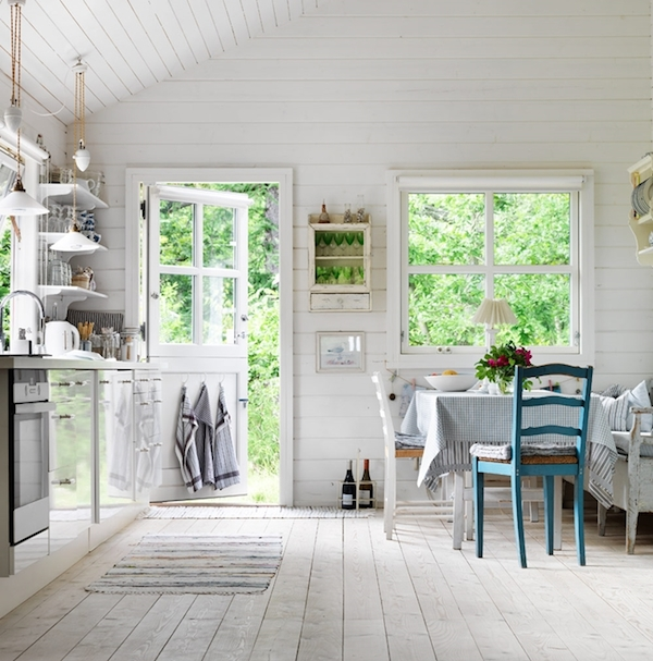 my scandinavian home an idyllic swedish cottage with. Black Bedroom Furniture Sets. Home Design Ideas
