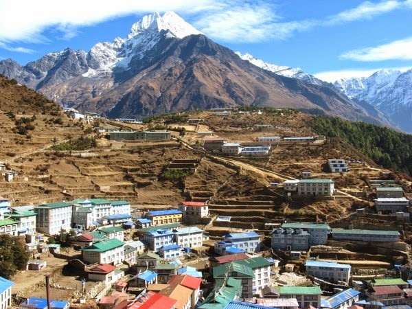 namche bazar in everest trekking