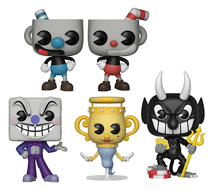CUPHEAD Plush & Pop!Vinyls from Funko! (Feb 2018)