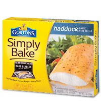 Gorton's Simply Baked Haddock Garlic Herb Butter